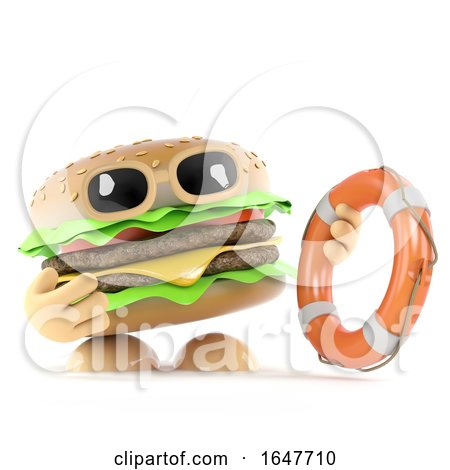 3d Beefburger Comes to the Rescue by Steve Young