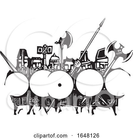 Army of Dwarves by xunantunich