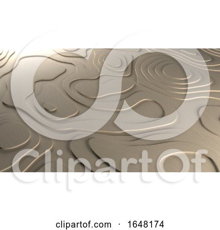 3D Topology Relief Background by KJ Pargeter