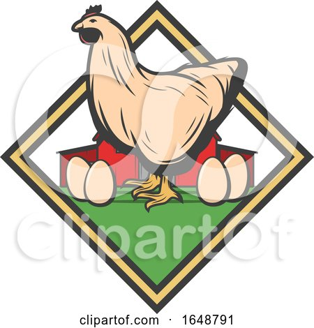 Chicken and Eggs by Vector Tradition SM