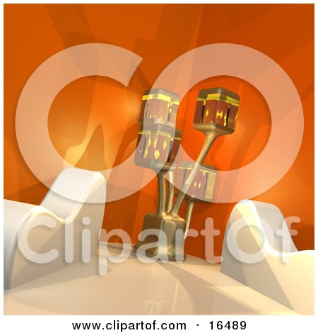 Interior Design Small Office on An Office Interior Clipart Illustration Graphic   Luxury Home Interior