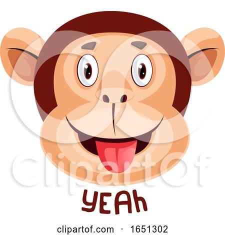 Monkey Is Saying Yeah by Morphart Creations