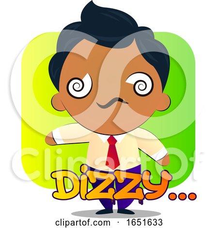 Business Man Feeling Dizzy by Morphart Creations