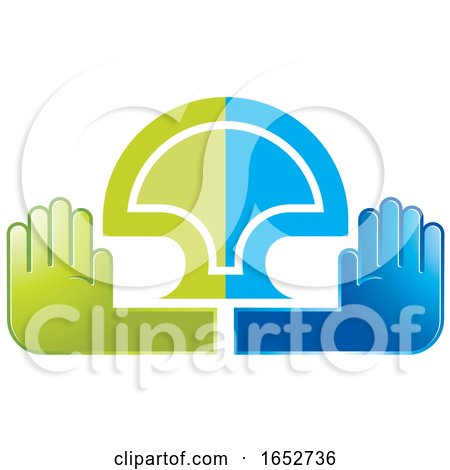 Abstract Hand Icon by Lal Perera