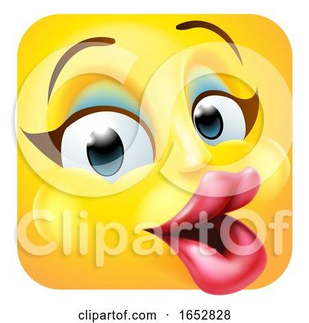 Celebrity Emoji Emoticon Icon Cartoon Character by AtStockIllustration