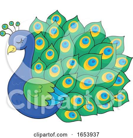 Cute Peacock Bird by visekart