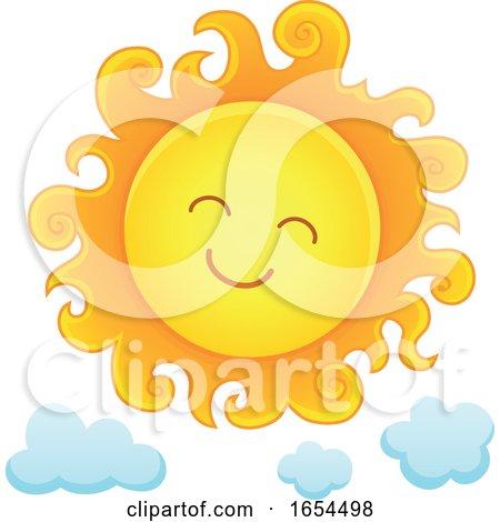 Smiling Summer Sun by visekart
