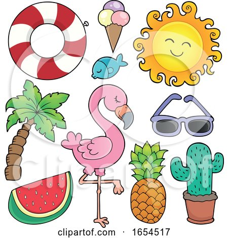 Summer Themed Items by visekart #1654517