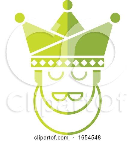 Green King Head by Lal Perera