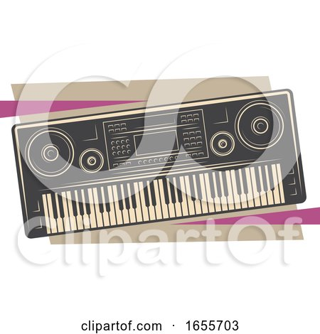 Musical Keyboard by Vector Tradition SM