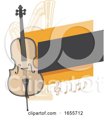 Double Bass and Harp by Vector Tradition SM