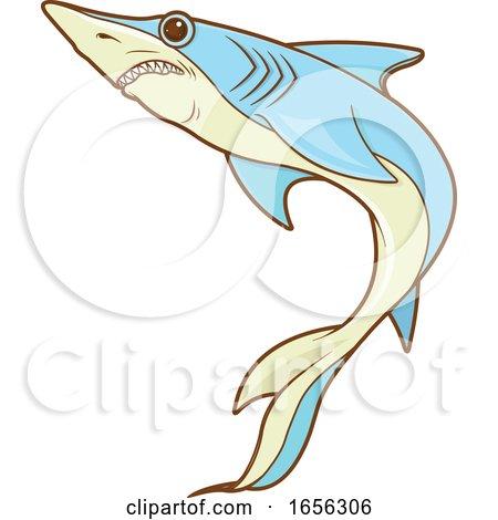 Blue Shark by Pushkin