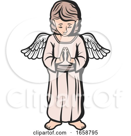 Praying Angel by Vector Tradition SM