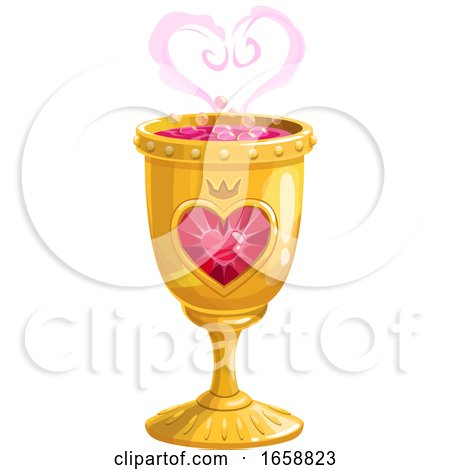 Love Spell in a Goblet by Vector Tradition SM