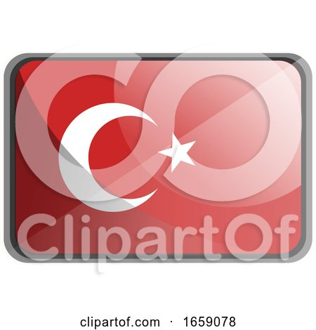 Vector Illustration of Turkey Flag by Morphart Creations