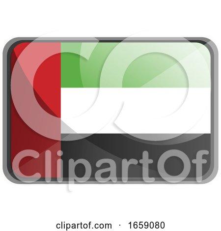 Vector Illustration of United Arab Emirates Flag by Morphart Creations