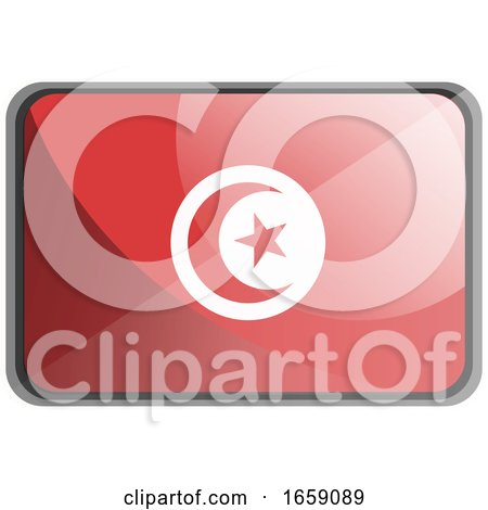 Vector Illustration of Tunisia Flag by Morphart Creations