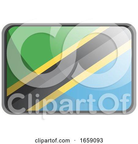 Vector Illustration of Tanzania Flag by Morphart Creations