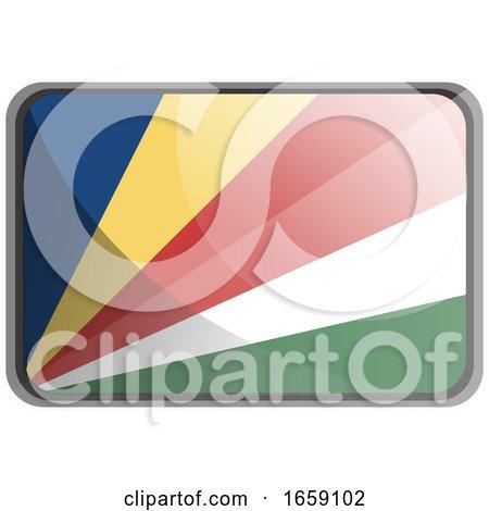 Vector Illustration of Seychelles Flag by Morphart Creations