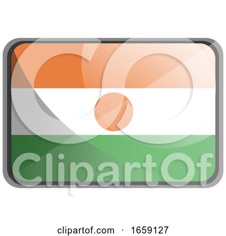 Vector Illustration of Niger Flag by Morphart Creations
