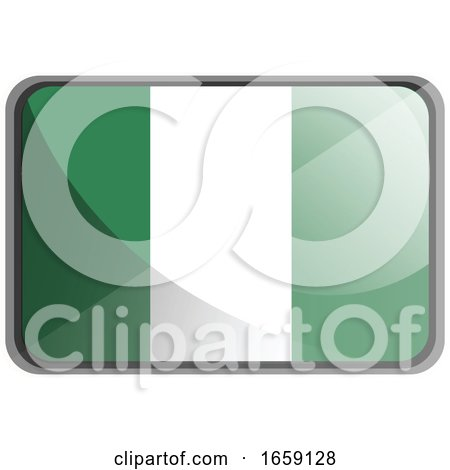 Vector Illustration of Nigeria Flag by Morphart Creations