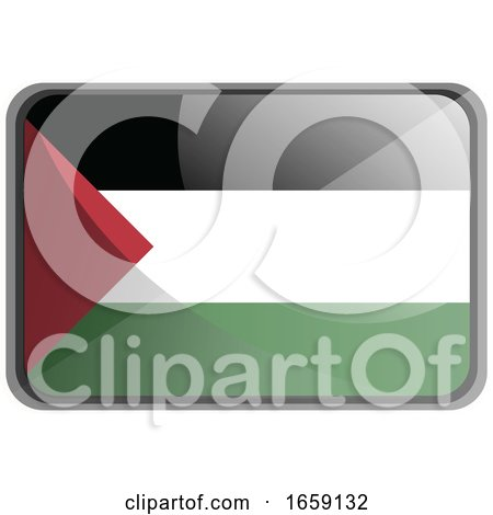 Vector Illustration of Palestine Flag by Morphart Creations