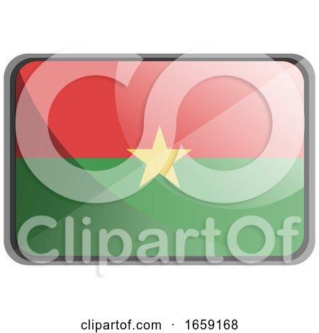 Vector Illustration of Burkina Faso Flag by Morphart Creations