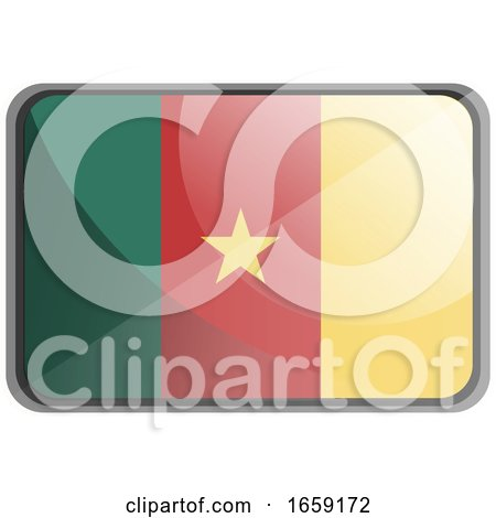 Vector Illustration of Cameroon Flag by Morphart Creations