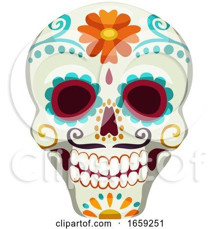 Dia De Los Muertos Mexican Design by Vector Tradition SM