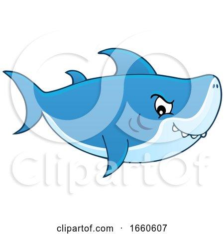 Cartoon Shark by visekart