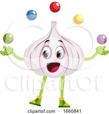 Garlic Juggling by Morphart Creations
