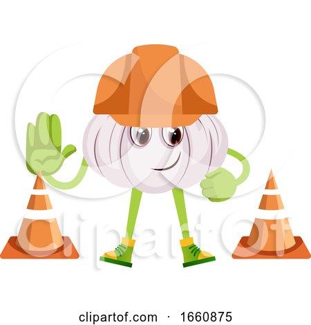 Garlic at Construction Yard by Morphart Creations
