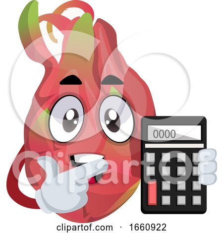 Dragon Fruit with Calculator by Morphart Creations
