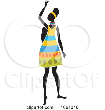 African Woman by Lal Perera