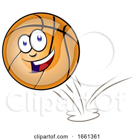 Bouncing Basketball Mascot by Domenico Condello