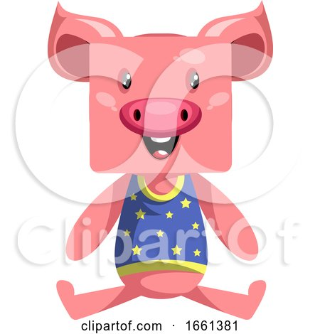 Happy Pig by Morphart Creations