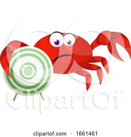 Crab with Target by Morphart Creations