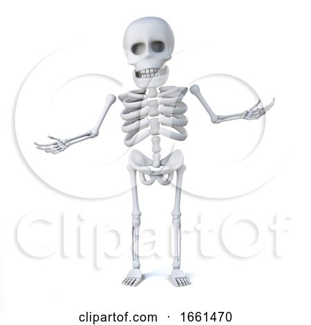 3d Skeleton Is Innocent by Steve Young