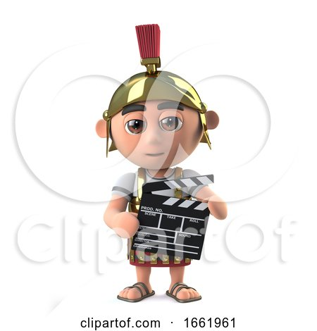 3d Roman Soldier Makes a Movie by Steve Young