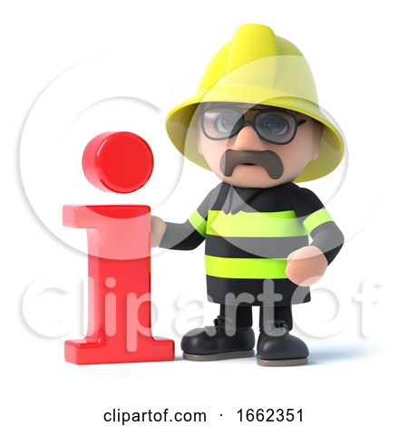 3d Firefighter Has Info by Steve Young