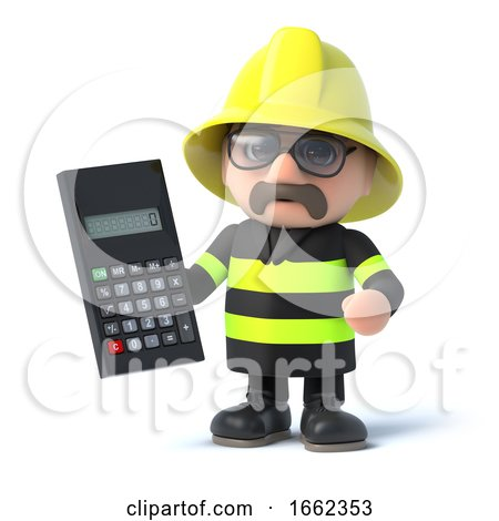 3d Fireman Calculates the Risk by Steve Young