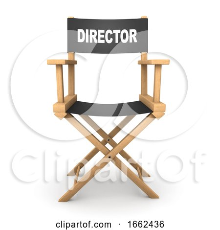 3d Directors Chair by Steve Young