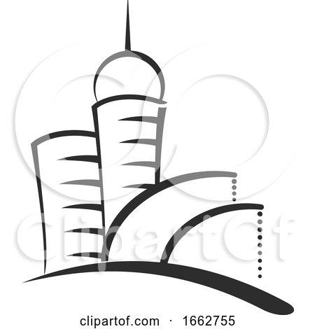 Skyscraper Buildings by Vector Tradition SM