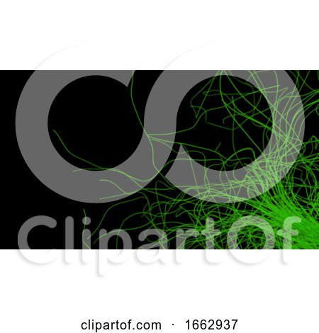 3D Render of Abstract Chaotic Elements by KJ Pargeter