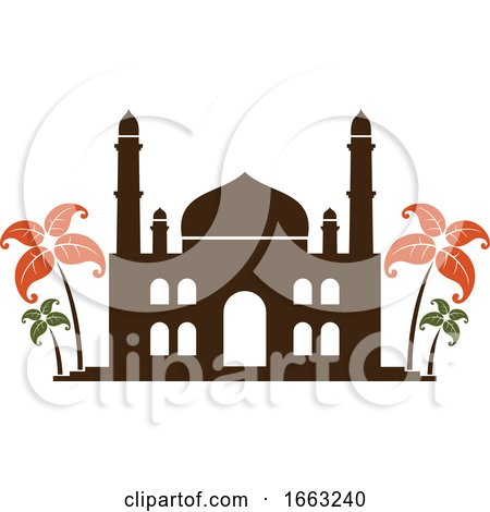 Indian Mosque by Vector Tradition SM
