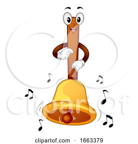 Mascot Bell Illustration by BNP Design Studio