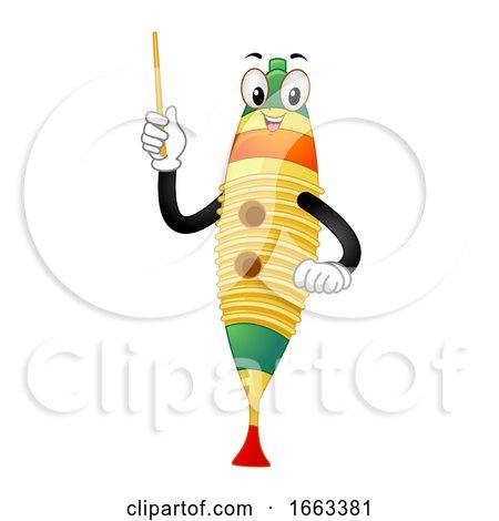 Mascot Guiro Illustration by BNP Design Studio