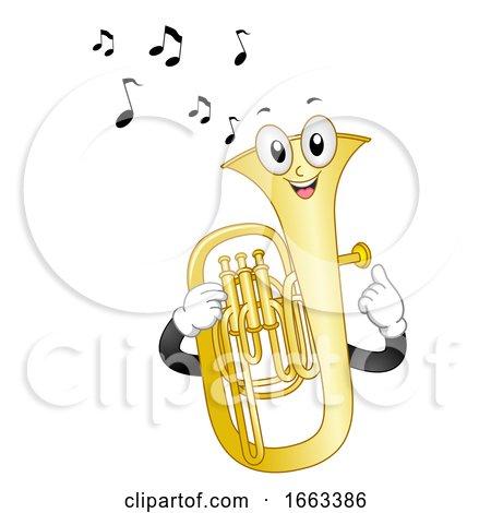 Mascot Tuba Illustration by BNP Design Studio
