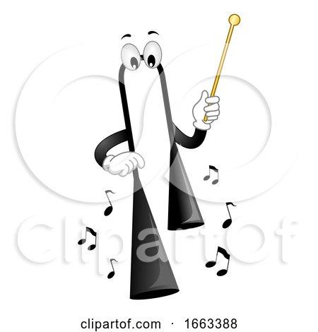 Mascot Agogo Bell Illustration by BNP Design Studio