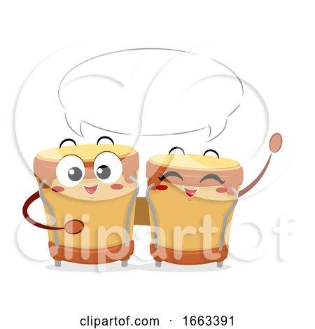 Mascot Bongos Speech Bubble Illustration by BNP Design Studio